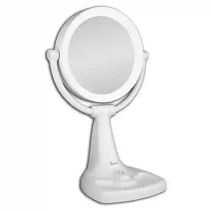 Zadro 174 1x 10x Max Bright Sunlight Vanity Mirror Met