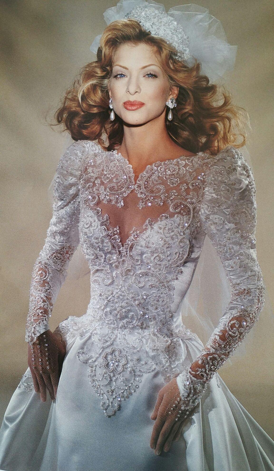 Demetrios close bodice view demetrios bride vintage gowns