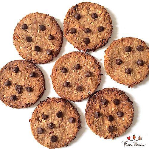 Thaís Massa - Cookies com Gotas de Chocolate