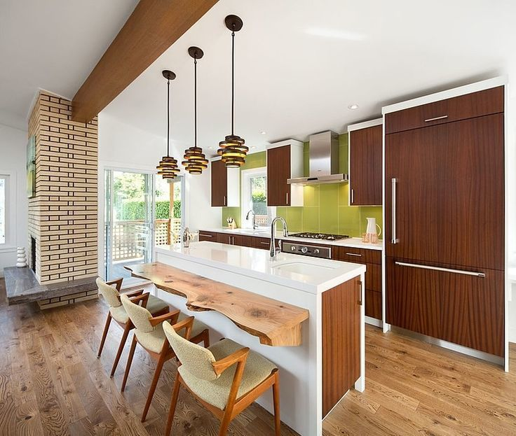These homeowners have nailed the retro look And nailed it hard