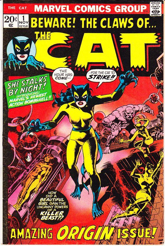 The Cat 1 Patsy Walker Hellcat Avengers Member Comic Key Book