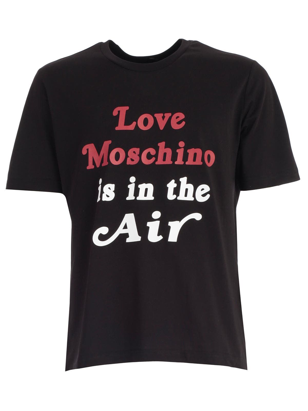 Love Moschino T Shirt S S W Written Moschino T Shirt Shirts