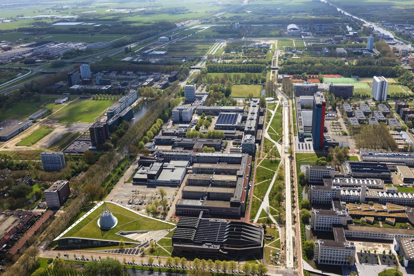 Mecanoo Architects > Mekel Park Campus Delft