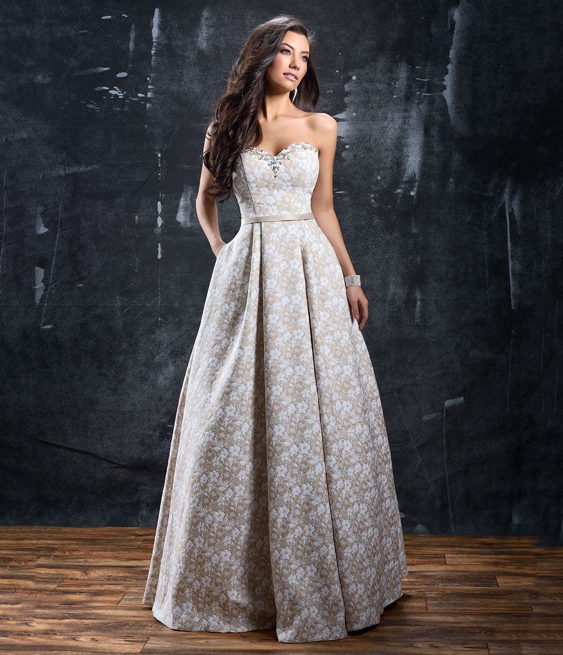 Vintage inspired evening dresses gowns and formal wear strapless