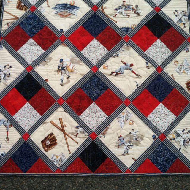 6772c4aaf89d8fed4291a9106177516a.jpg 640×640 pixels   quilt ... : baseball fabric for quilting - Adamdwight.com