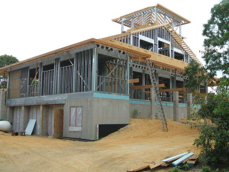 construction metal stud construction