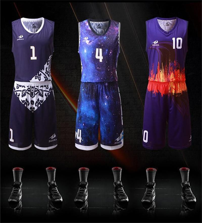 Free Shipping Sublimation Basketball Team Uniforms Oem Your Own Jersey Men Youth Basketball Pin Basketball Clothes Basketball Uniforms Design Basketball Jersey