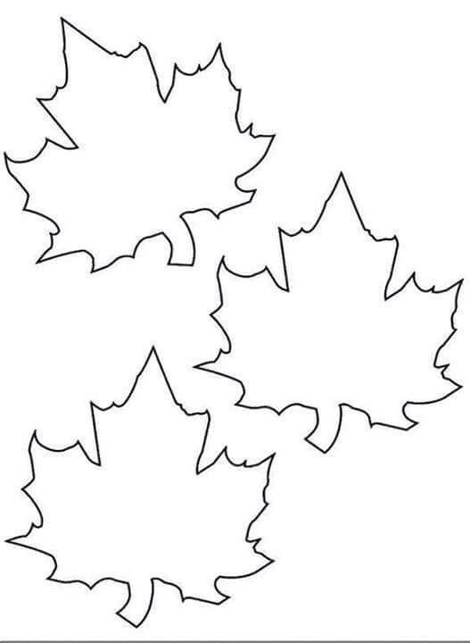 çınar Yaprağı Kalıplar Pinterest Autumn Leaf Template Ve Fall