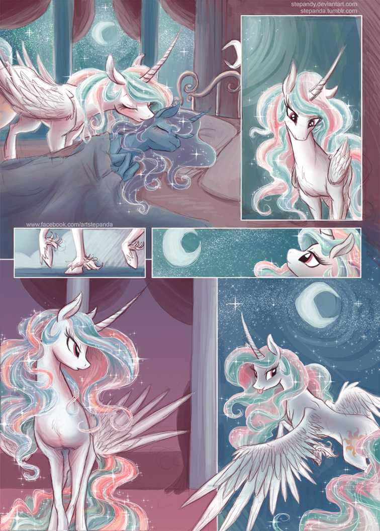 Notte Incantata - Page 1 by StePandy on DeviantArt