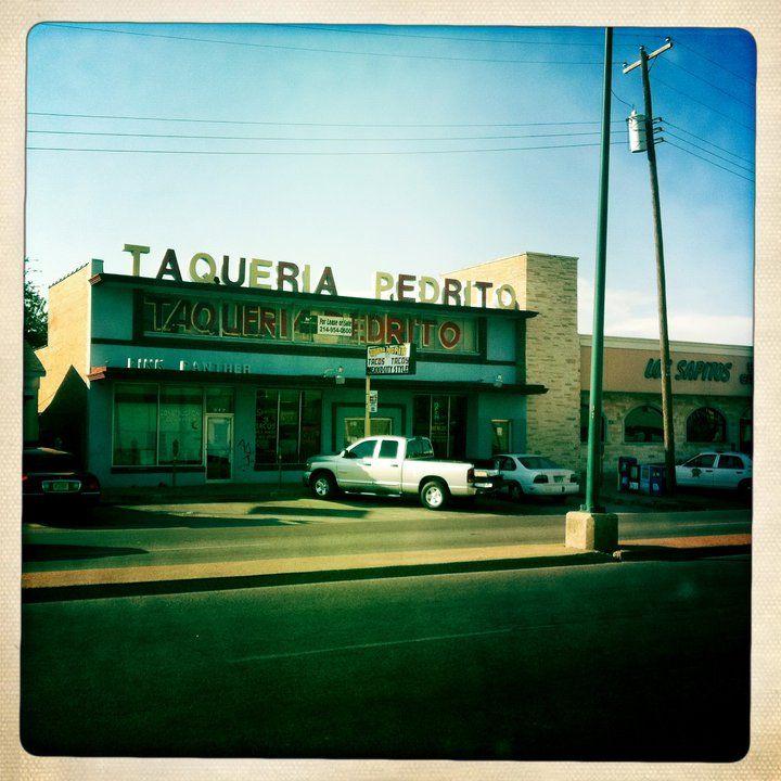 Taqueria Pedrito, Dallas, TX. Best. Carne Asada Tacos. Ever ...