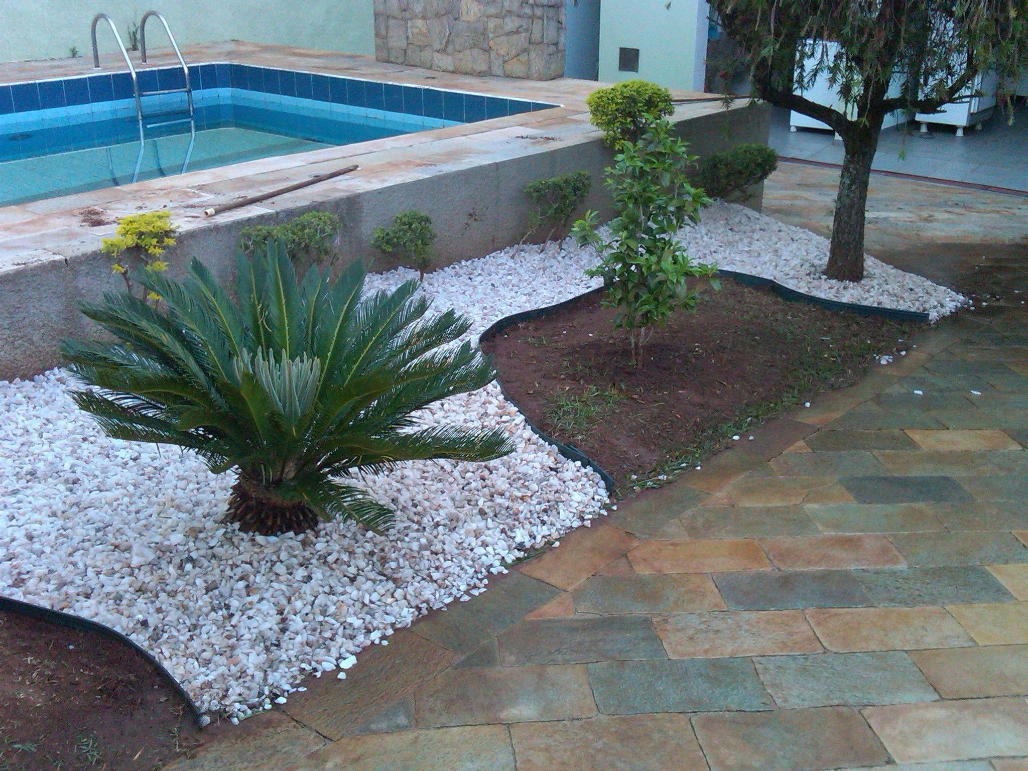 jardins pequenos com pedriscos - Pesquisa Google | our ...