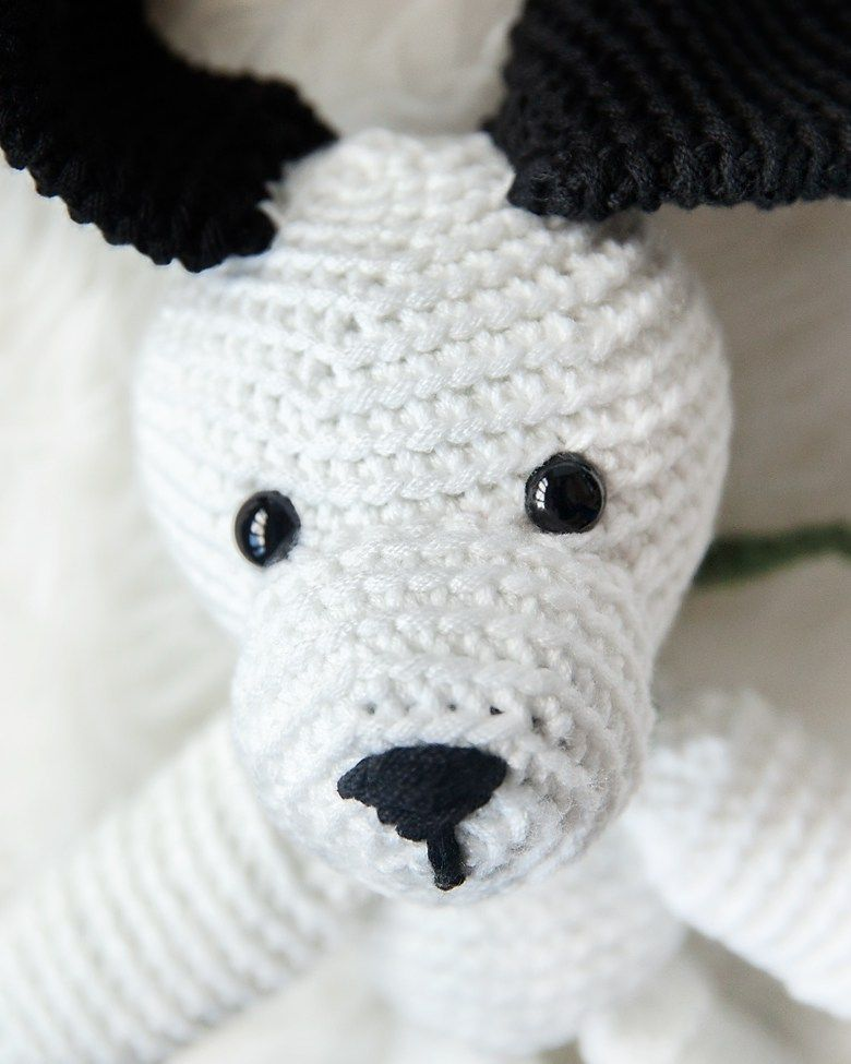 FREE CROCHET PUPPY PATTERN – INCLUDES LEASH! - Crochet Crafty Ideas ...