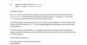 Medical Record Request For Medical Free Medical Medical Records
