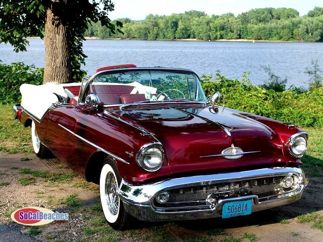 The Classic Car Feed — 1957 Oldsmobile 88 Convertible …