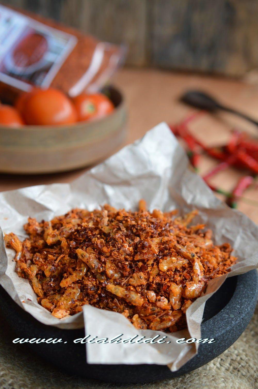 Abon Cabe Udang (Dengan gambar) Makanan, Resep masakan