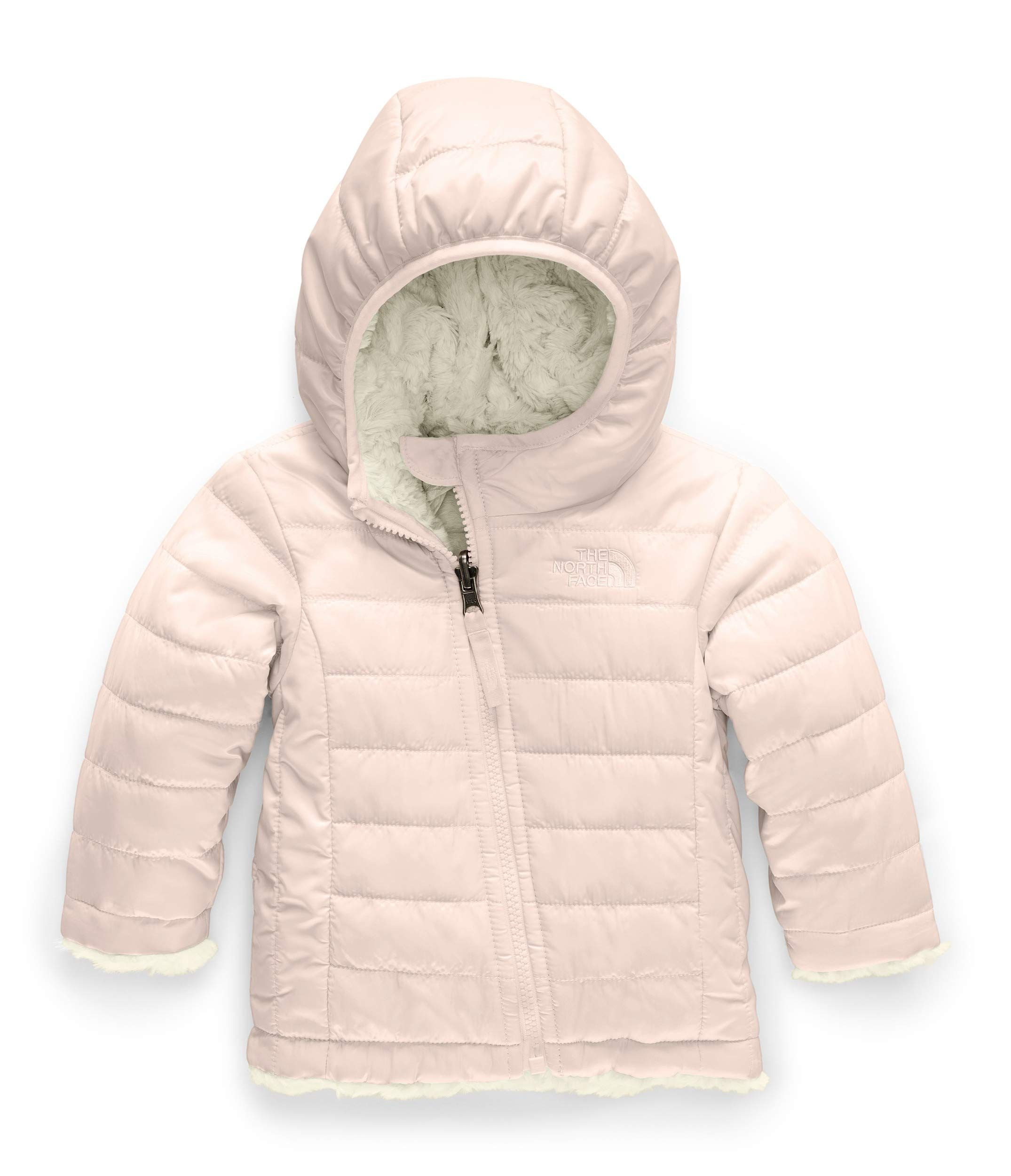 The North Face Infant Reversible Mossbud Swirl Hoodie Purdy Pink Vintage White 6 12 Months Examine T North Face Mossbud North Face Kids Baby Girl Jackets [ 2500 x 2150 Pixel ]