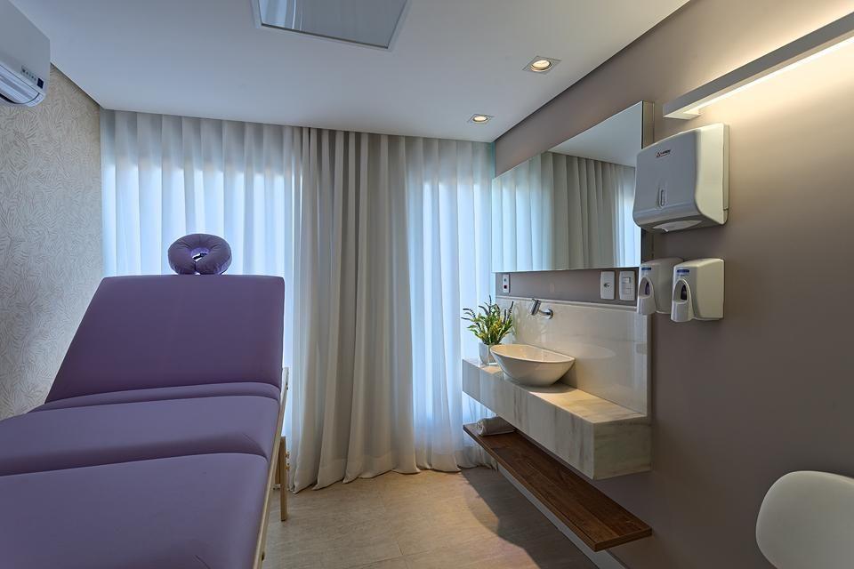 Lavabo Cabina Estetica : Clinica com lavabo decoração que adoro