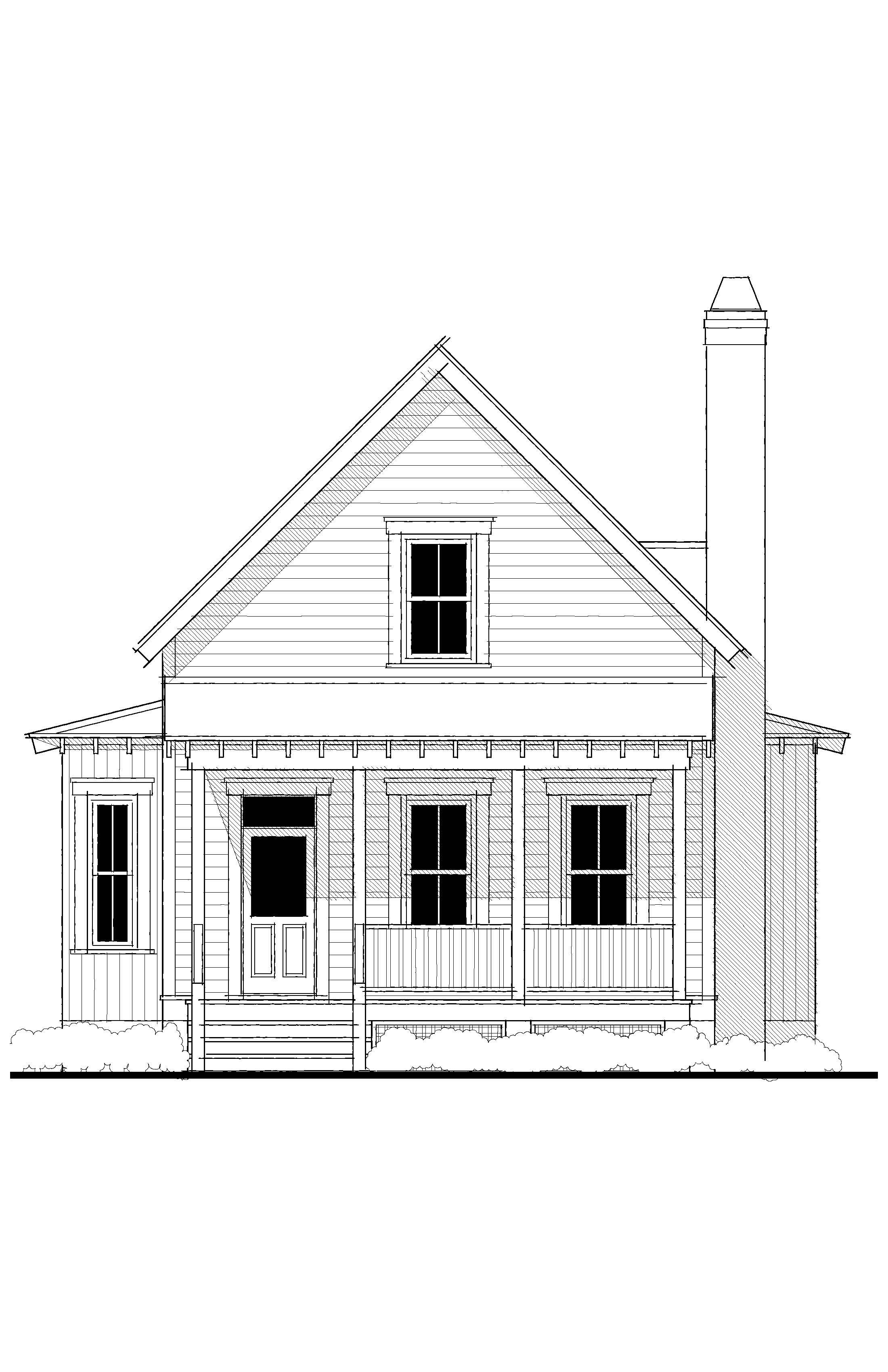Elevation House Plans River Cottage How To Plan