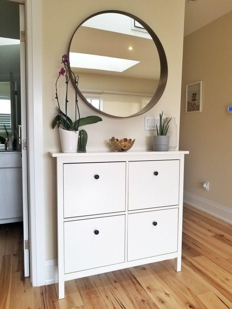 Ikea hemnes shoe cabinet 2