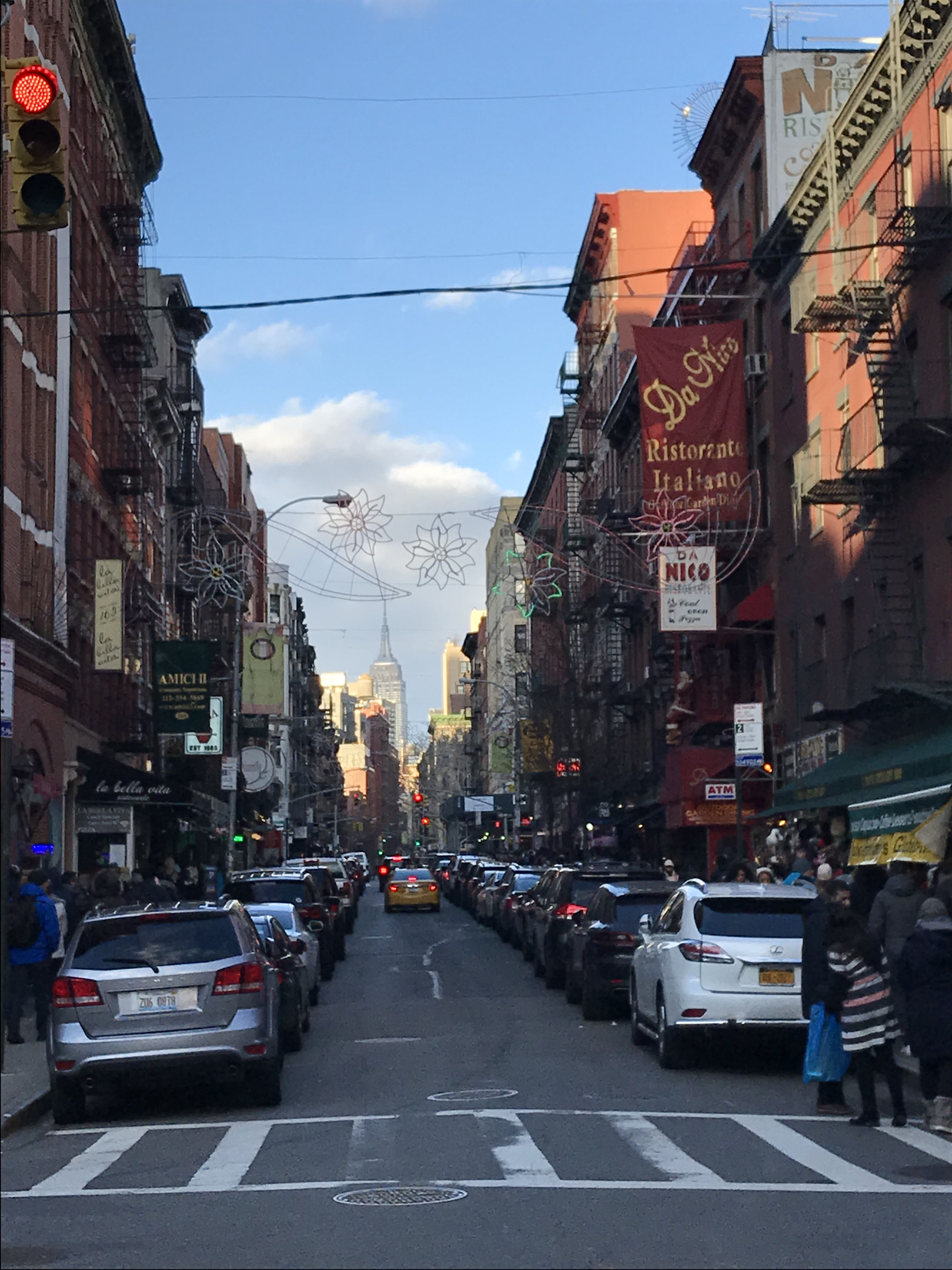 Mulberry Street, Little Italy - New York City
