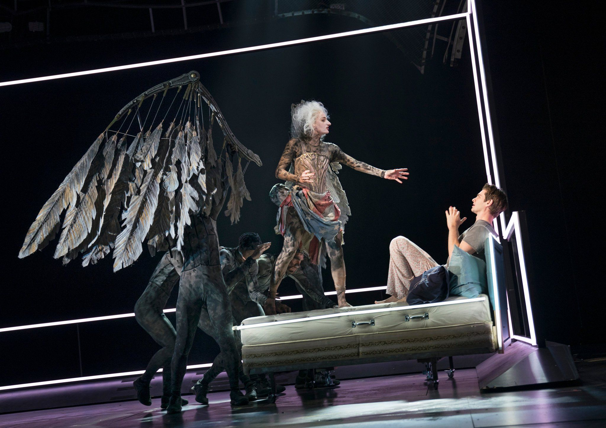 Review An Angels In America That Soars On The Breath Of Life