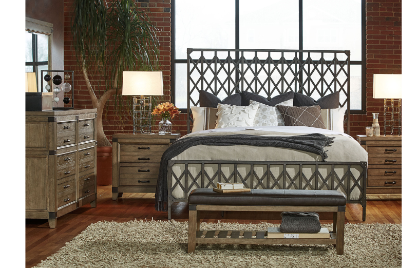 An industrial chic, total home collection with design
