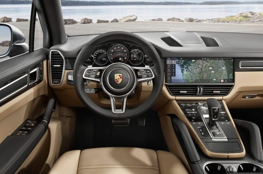 2020 Porsche Macan Dashboard and Control Features
