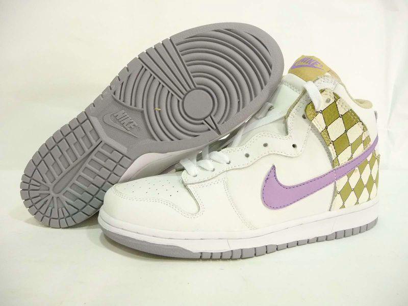 Nike Dunk High White Purple Steel Birch   Nike dunks, Nike