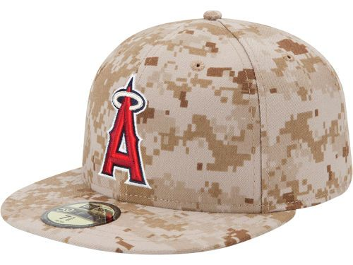 fee14a056df Los Angeles Angels of Anaheim New Era MLB 2013 Memorial Day Stars   Stripes  59FIFTY Cap Hats