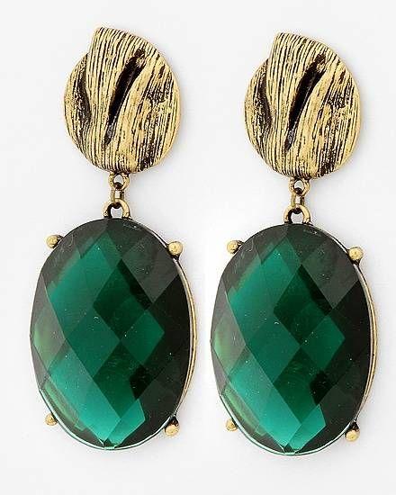 #Emerald Earrings