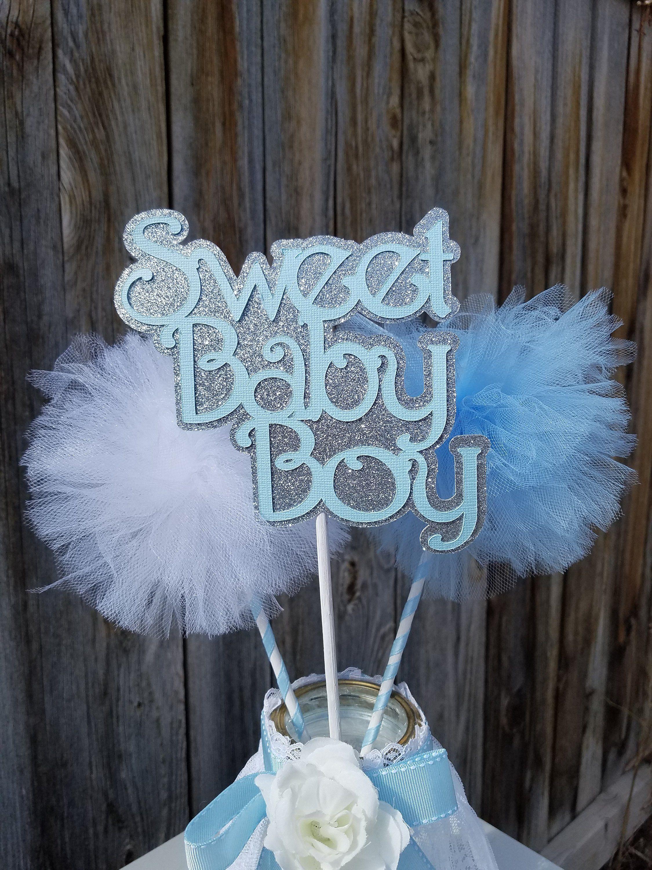 It S A Boy Baby Shower Decoration Centerpiece Blue Baby Shower