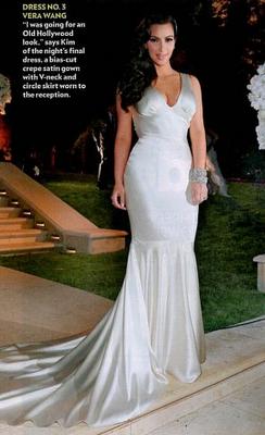 867ef43898 Reception Satin Dresses, Satin Gown, Kim Kardashian Wedding Dress, Kardashian  Dresses, Kardashian