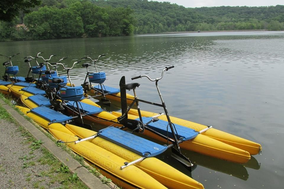 Raccoon Lake State Park in Pennsylvania Cabins in