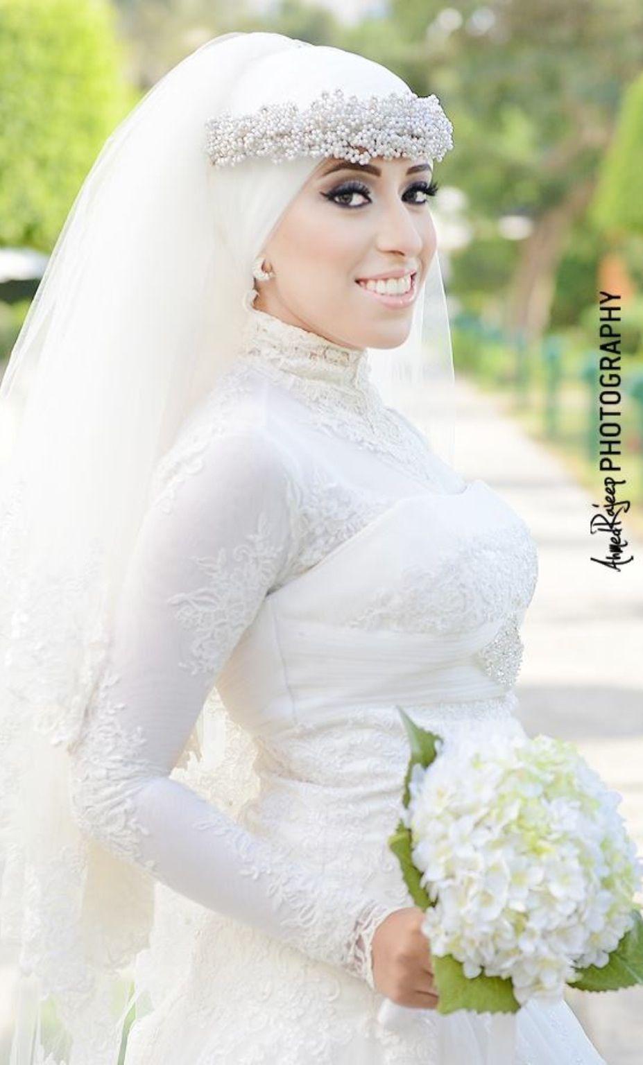 egyptian bride. muslim wedding