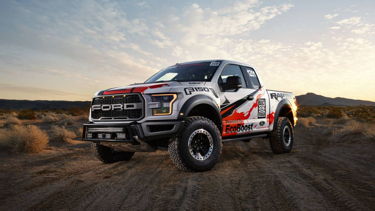 2017 ford f 150 raptor for best in the desert