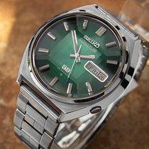 Seiko 5 Actus 1970 Vintage 23j Automatic Stainless Steel Watch Seiko Casio Protrek Seiko Watches