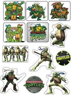 photo about Free Printable Ninja Turtle Pictures identified as Stickers, Ninja Turtles, Stickers - Totally free Printable Options