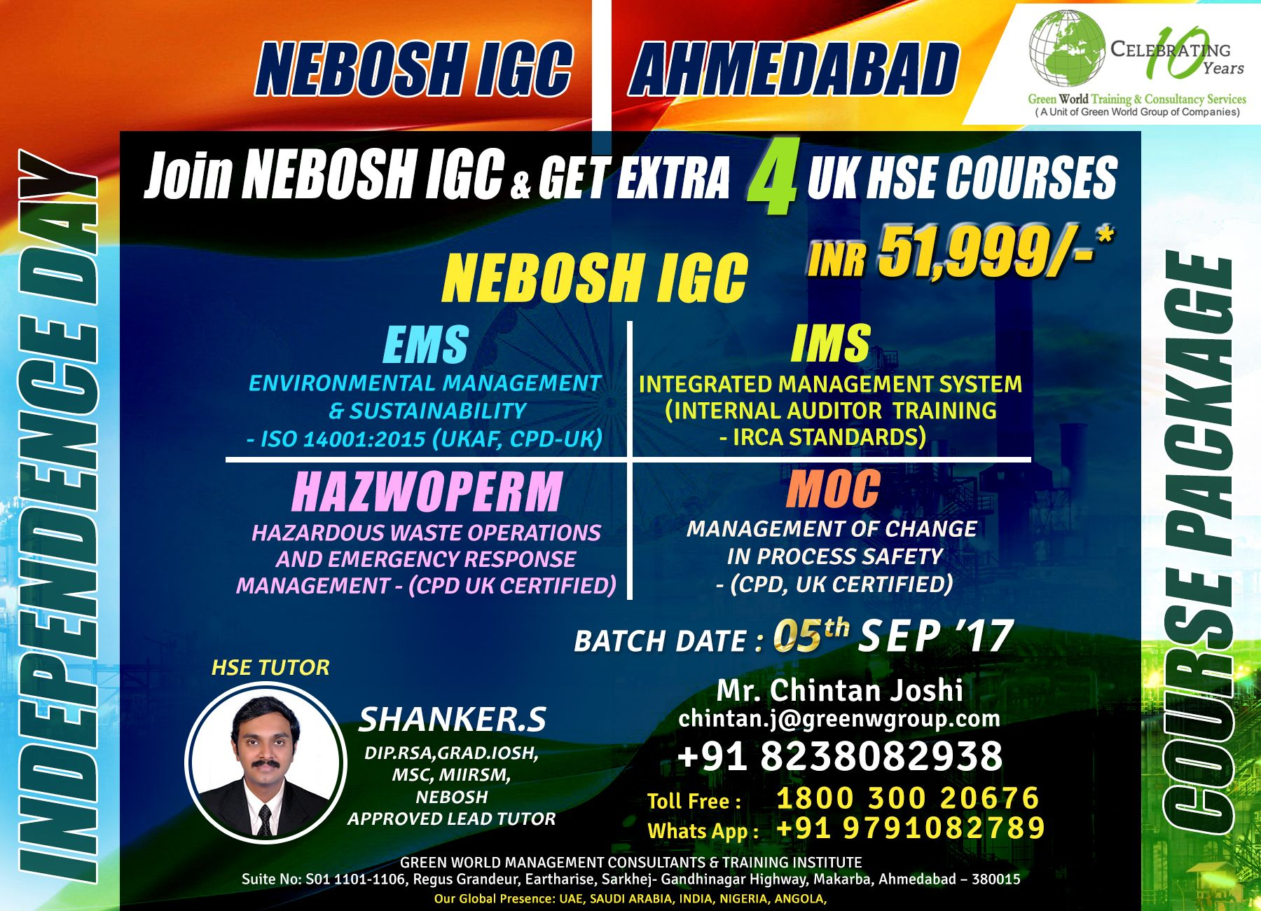 Green World Group Is A Primary Health Safety Training Institute In