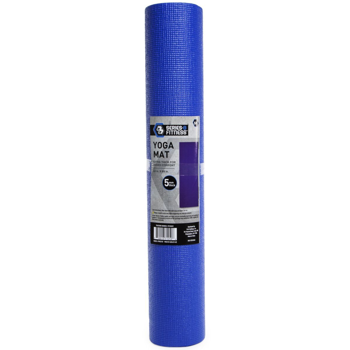 #24in #5mm #68in #Blue #Fitness #Mat #royal #series8 #Thick #Yoga series-8 fitness 5mm thick  yoga m...