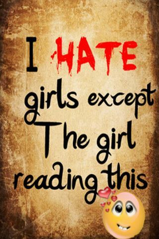 For Girl Hater Jealousy Quotes Hate Girls Expect Sayings