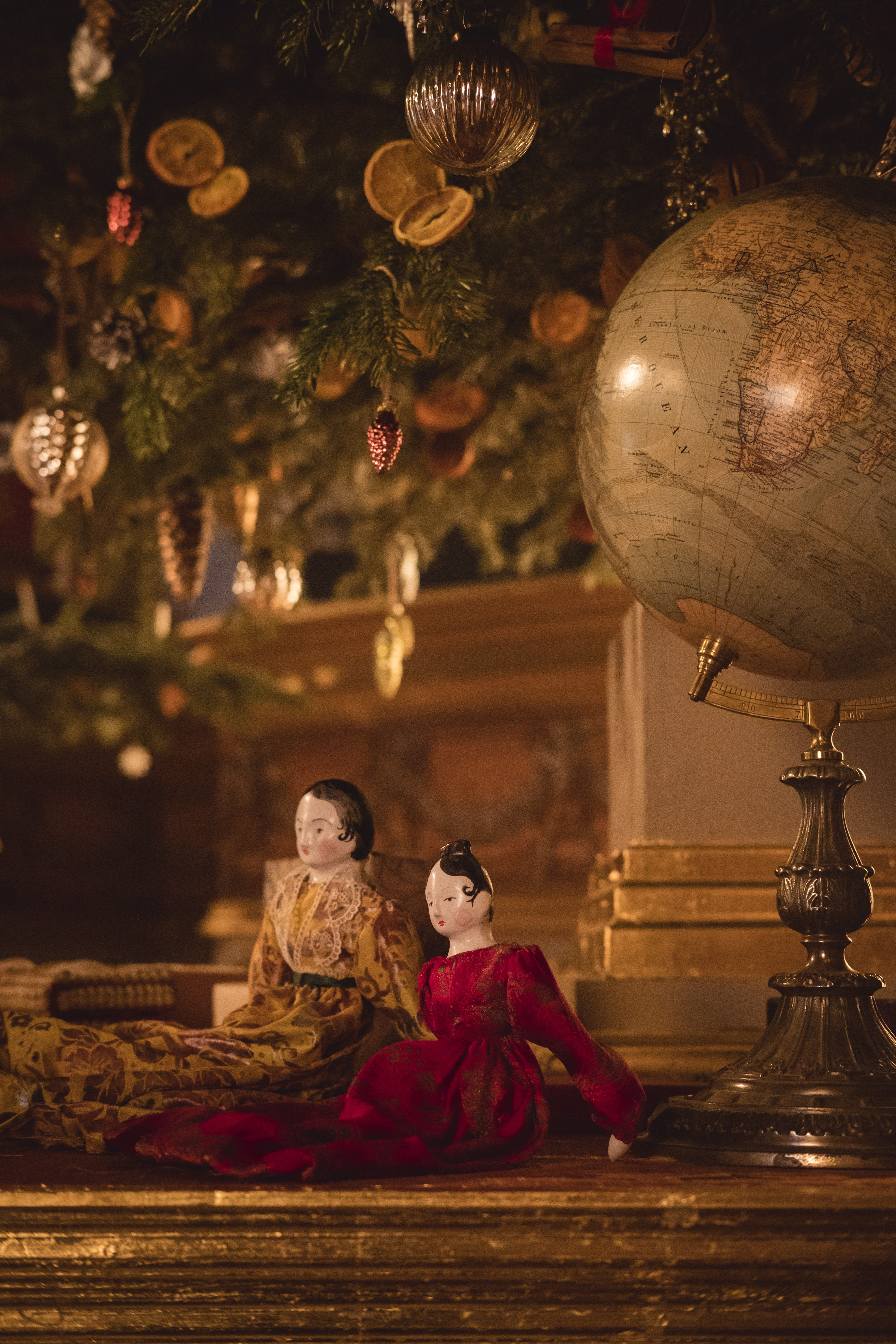Promotional Still From The Victoria 2017 Christmas Special Comfort And Joy Old World Christmas Ornaments Old World Christmas Old Fashioned Christmas