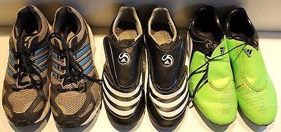 3 Paar Sportschuhe Adidas Fußballschuhe Joggingschuhe Gr. 38