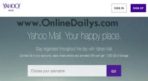 Www Yahoomail Com Yahoo Mail Create Account Yahoo Sign Up Lagu