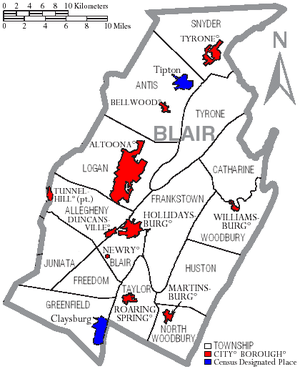Map of Blair County, Pennsylvania with Munil Labels ... Map Of Tyrone Pa on map of new paris pa, map of loganville pa, map of shamokin dam pa, map of upper st clair pa, map of throop pa, map of narberth pa, map of berkshire pa, map of wilburton pa, map of lawrence park pa, map of newry pa, map of point marion pa, map of saint marys pa, map of mahaffey pa, map of schellsburg pa, map of mount union pa, map of armagh pa, map of russellton pa, map of madison pa, map of norwood pa, map of spring mills pa,