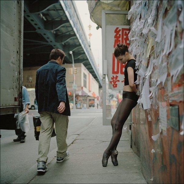 The New York City Ballerina Project photo dansers Dane Shitagi art