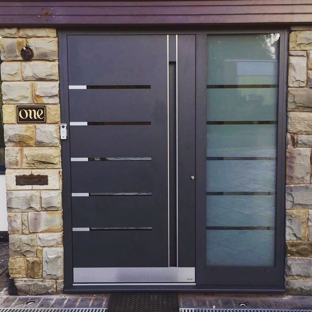 RK Door Systems - RK 5130 | Sectional garage doors, Exterior doors, Front door