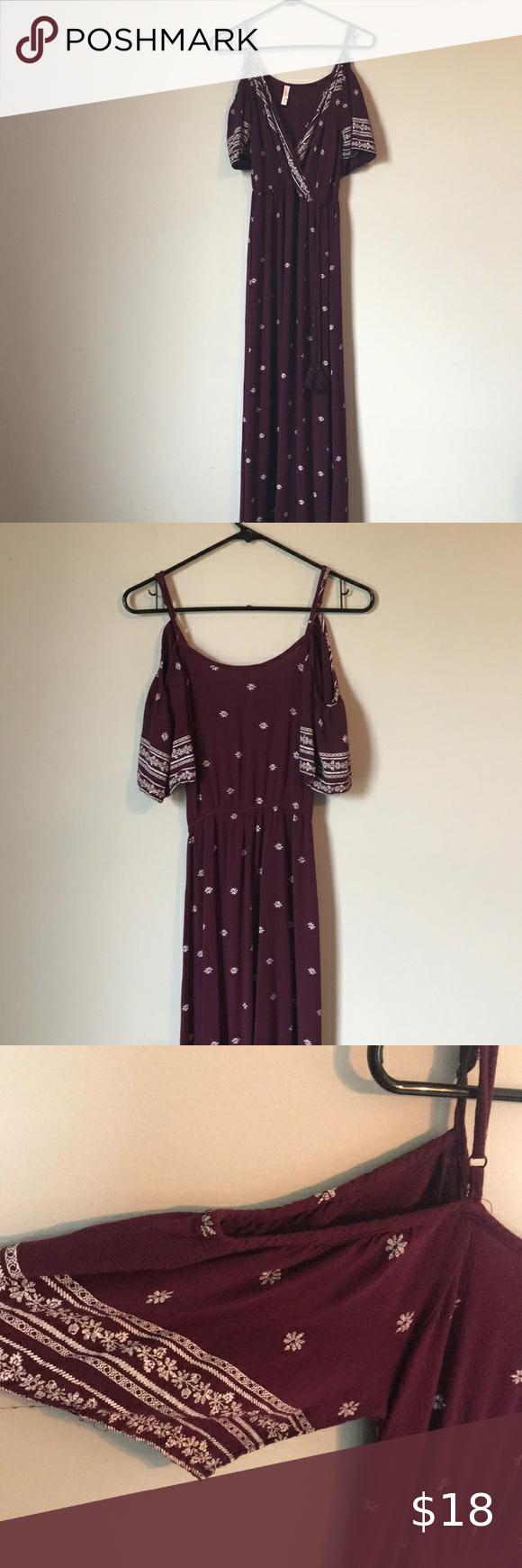 I Just Added This Listing On Poshmark Xhilaration Maxi Dress Shopmycloset Poshmark Fashion Shopping Style Forsal Burgundy Maxi Dress Fashion Maxi Dress [ 1740 x 580 Pixel ]