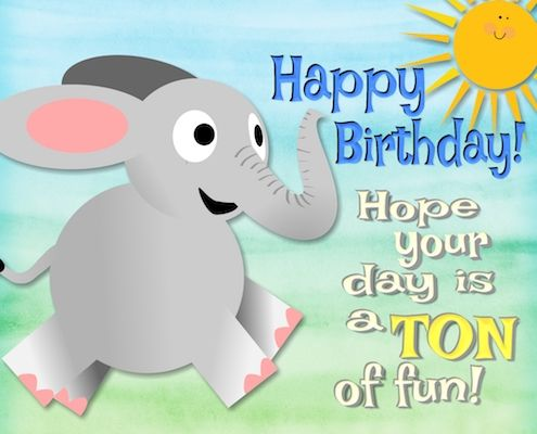 Send Tons Of Jumbo Birthdaywishes To A Little One You Know With This Ecard Happybirthday Birthday Wishes For Kids Birthday Wishes Funny Happy Birthday Song