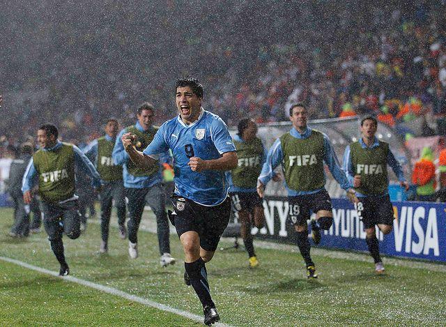 Image result for uruguay vs corea 2010