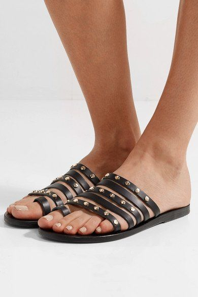 Ancient Greek Sandals Niki embellished leather sandals Discount Outlet Store SkmqyScJhB